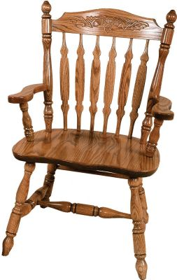 Griffin Press Back Arm Chair