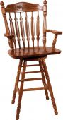 Griffin Swivel Amish Barstool