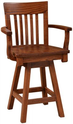 Henricus Swivel Counter Stool