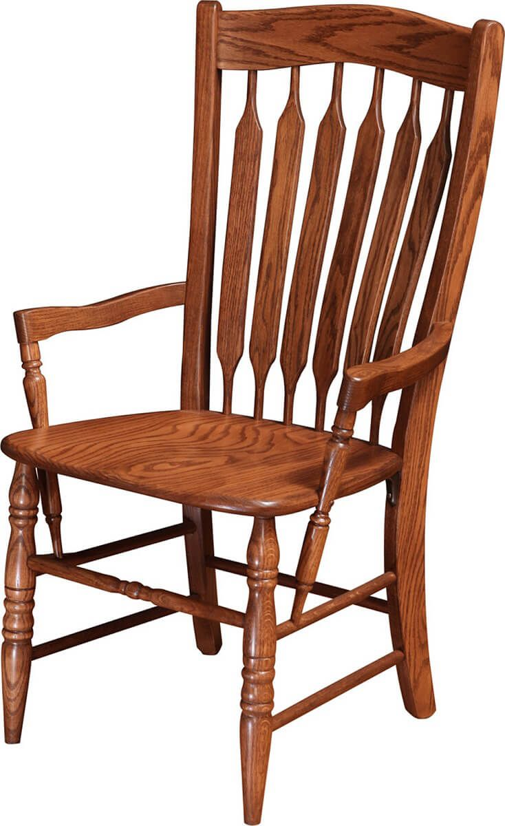Heywood Paddle Back Arm Chair