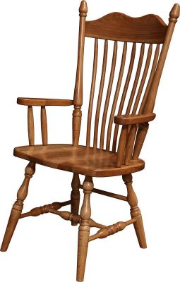 Howden Arm Chair in Hickory