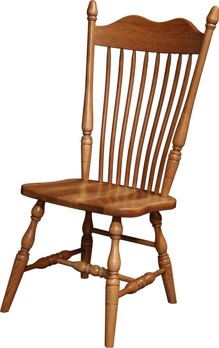 Howden Side Chair in Hickory