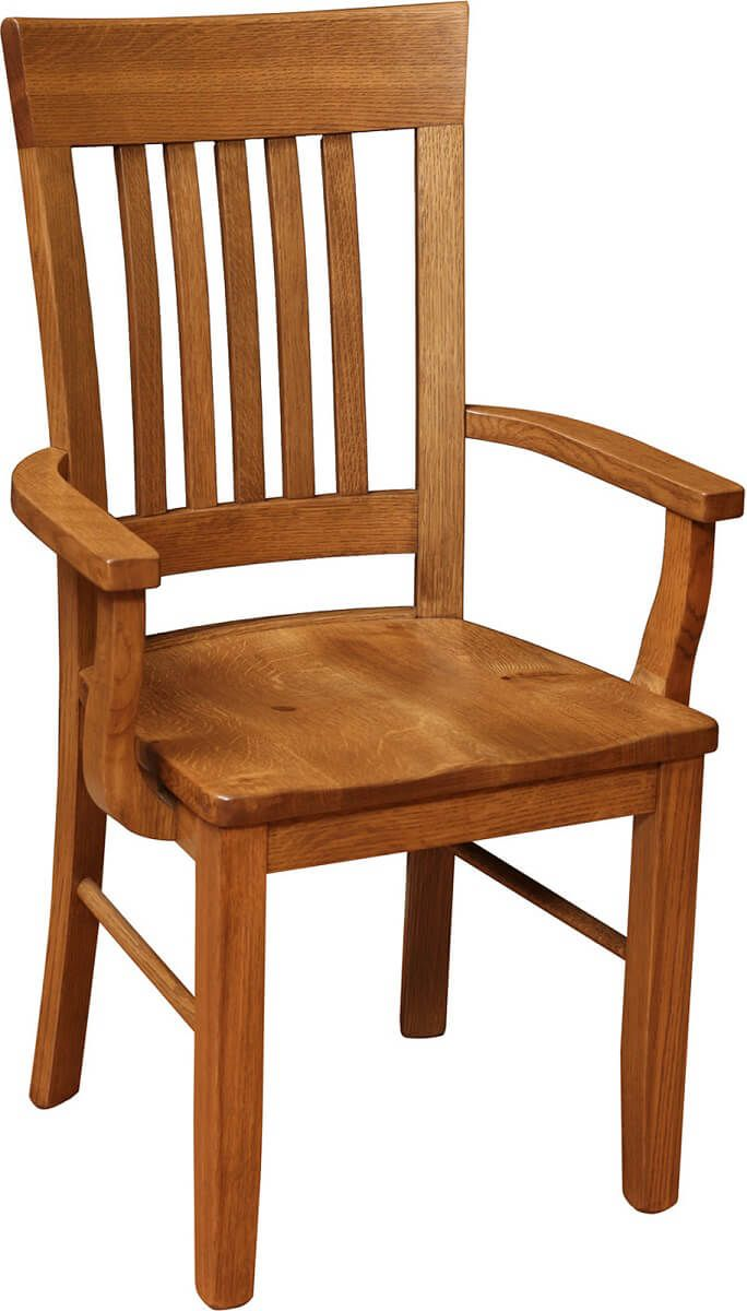 Jonesborough Solid Wood Arm Chair