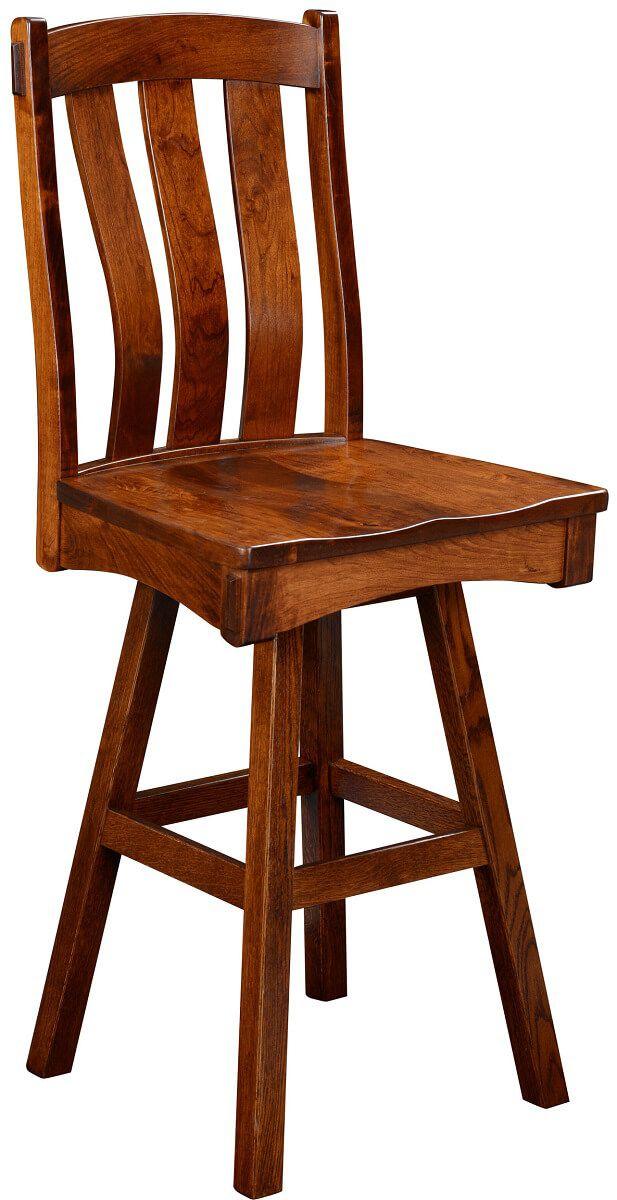 Kaskaskia Swivel Bar Height Chair