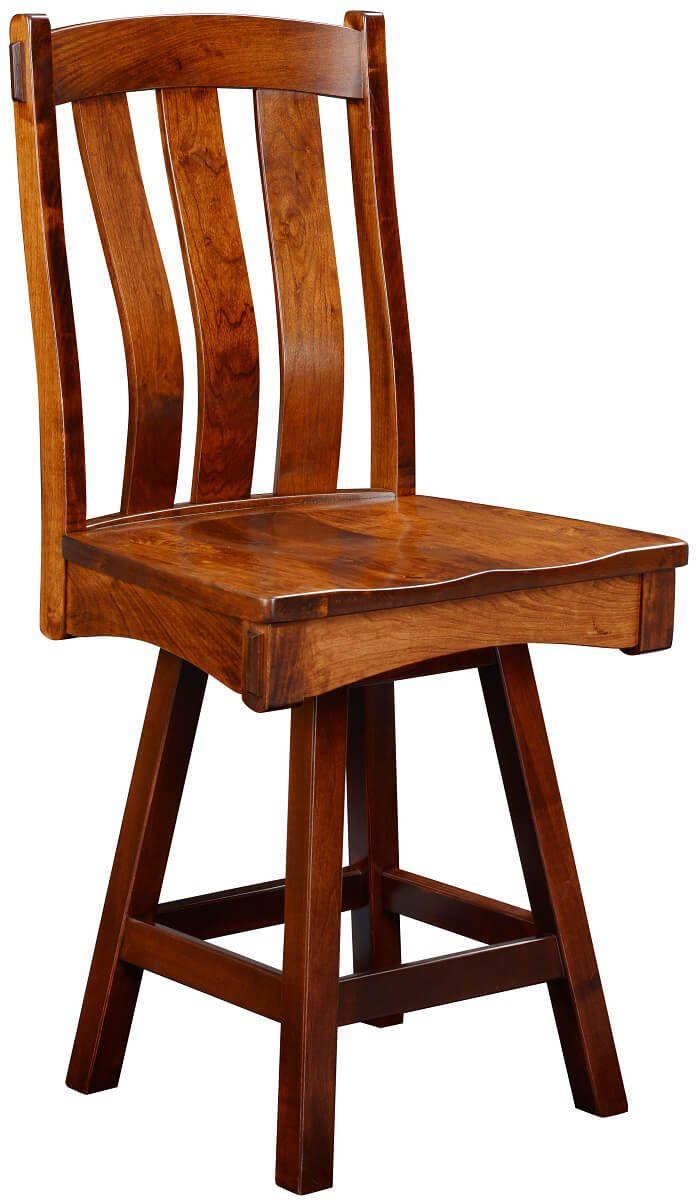 Kaskaskia Swivel Counter Height Chair