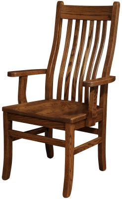 Los Gatos Mission Dining Arm Chair