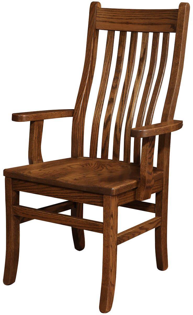 Los Gatos Mission Dining Arm Chair