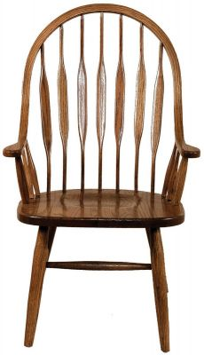 Maloof Bow Back Kitchen Chairs Countryside Amish Furniture