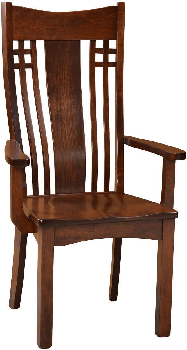 Mecklenburg Mission Arm Chair