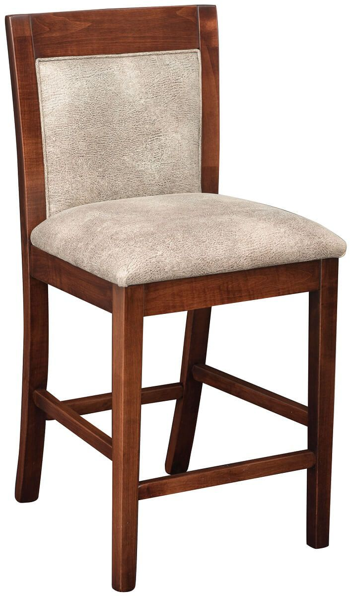 Upholstered Mendon Amish Counter Stool