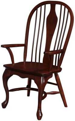 Middleborough Queen Anne Arm Chair