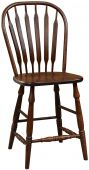 Mississippi Paddle Back Bistro Stool