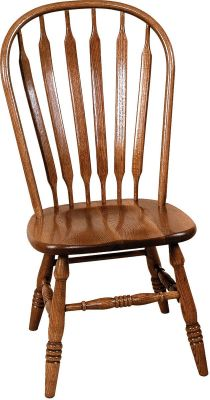 Amish Wood Chairs with Paddle Back