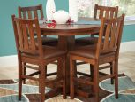 Paleno Bar Table Set in Oak