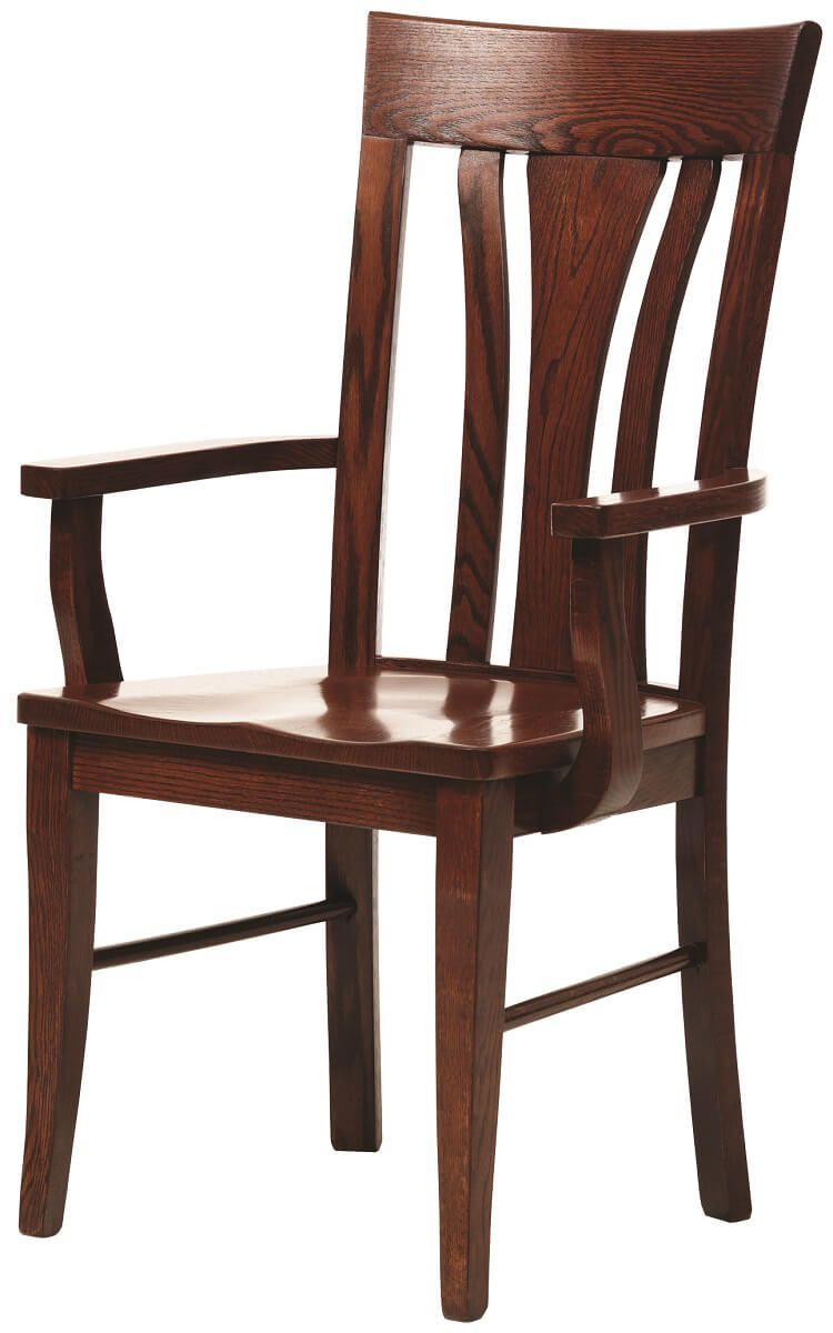 Modern Hardwood Arm Chair