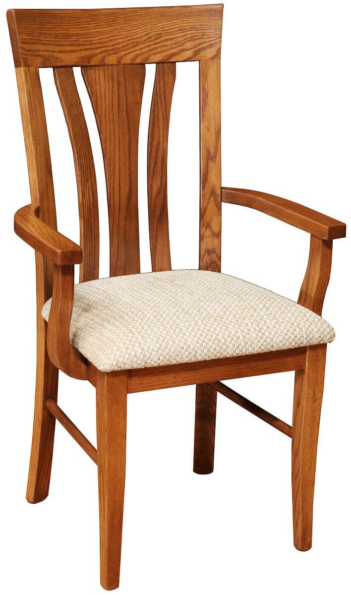 Pensacola Arm Chair with Oak frame