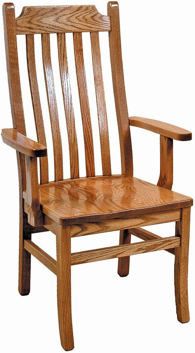 San Diego Mission Arm Chair
