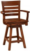 Santa Rosa Mission Swivel Bar Chair Countryside Amish