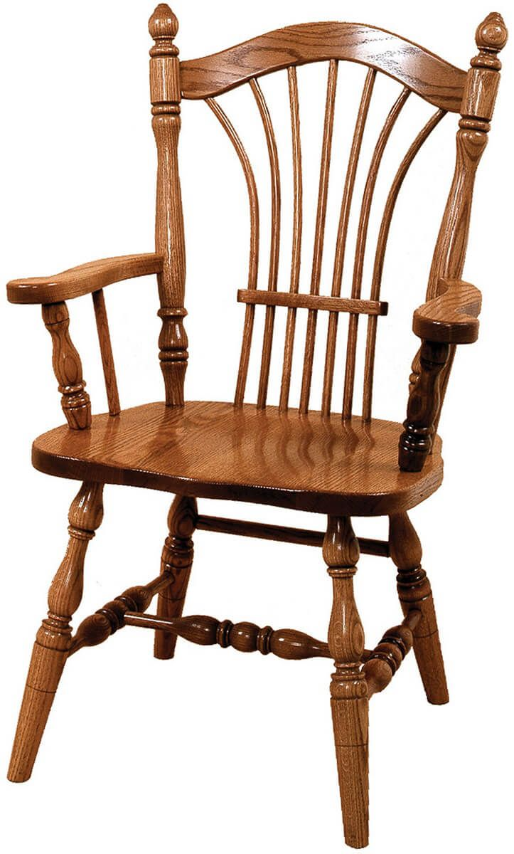 Wakefield Sheaf Back Arm Chair