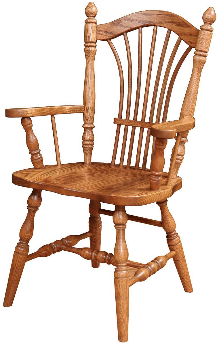 Arm Chair in Oak