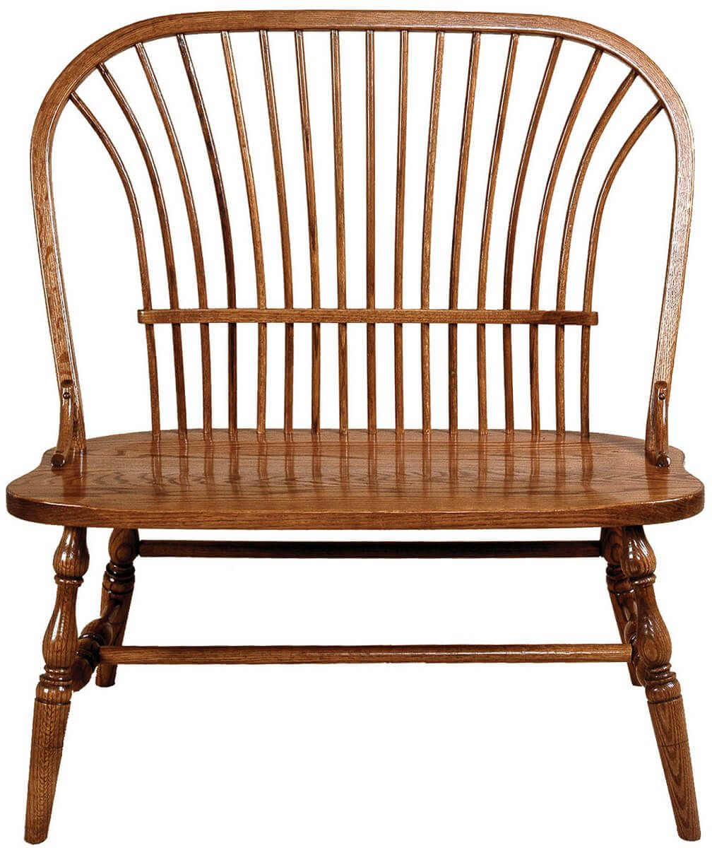 Walter Bow Back Bench