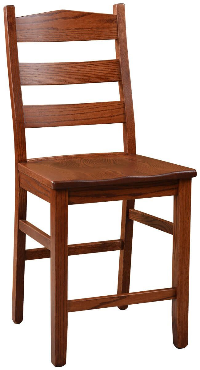Waterville Handmade Amish Bar Stool