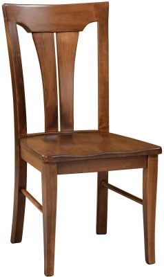 Amish Whitehall Modern Side chair