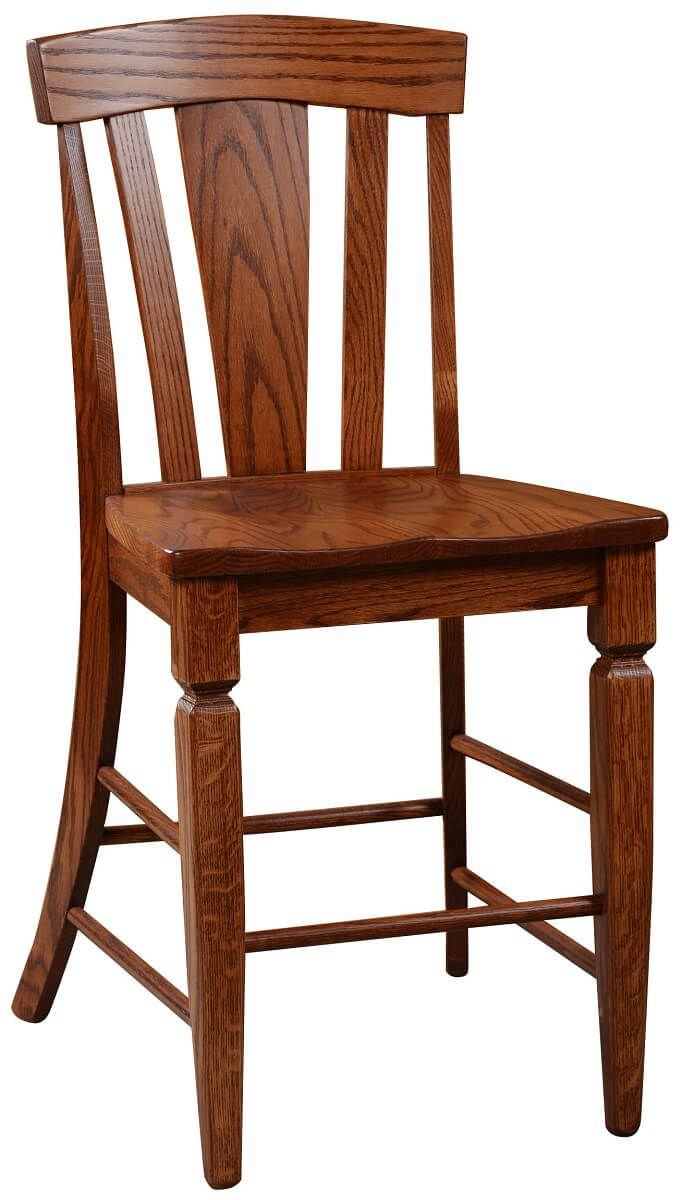 Annapolis Counter Height Stool in Oak