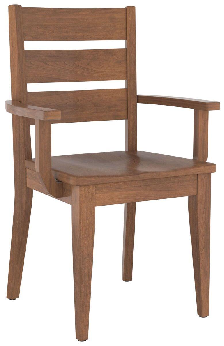 Ballwin Ladder Back Arm Chair