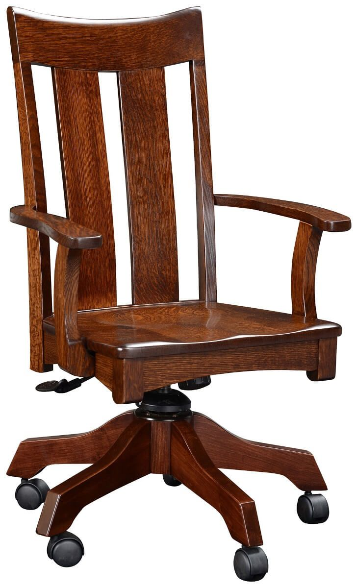 Barclay Amish Office Chair