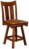 Barclay Bar Height Swivel Stool