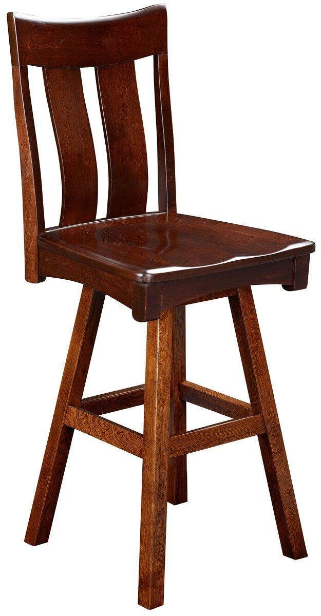 Benezet Swivel Bar Height Chair