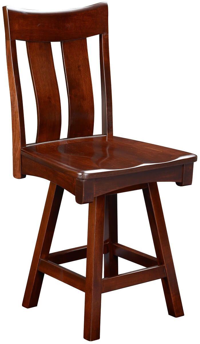 Benezet Swivel Counter Height Chair