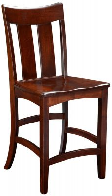 Solid Wood Counter Chair