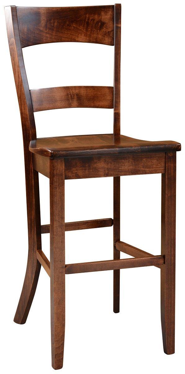 Dietrich Solid Wood Pub Chair