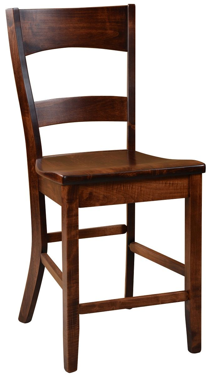 Dietrich Solid Wood Counter Chair