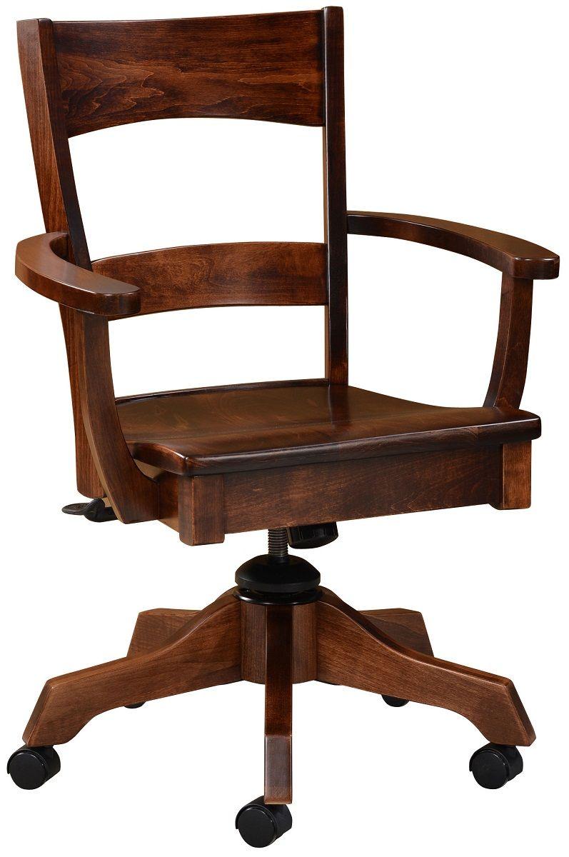 Dietrich Amish Desk Chair