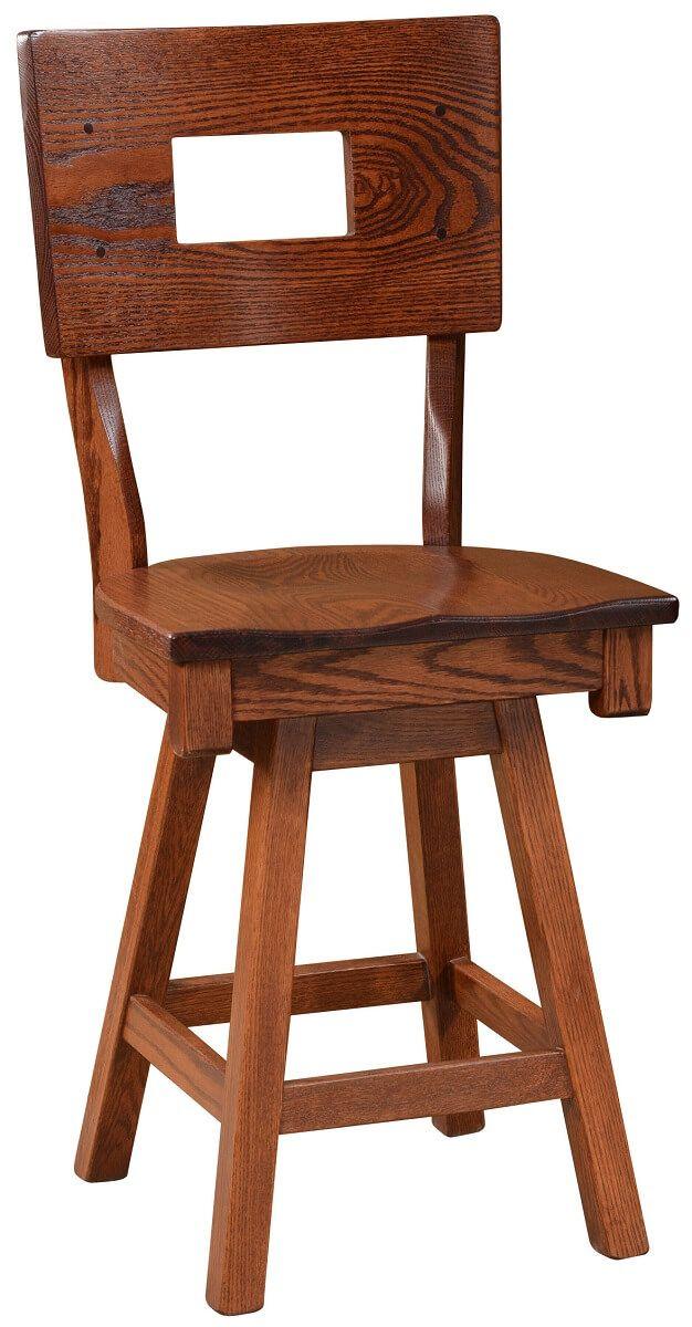 Grohmann Swivel Bistro Chair
