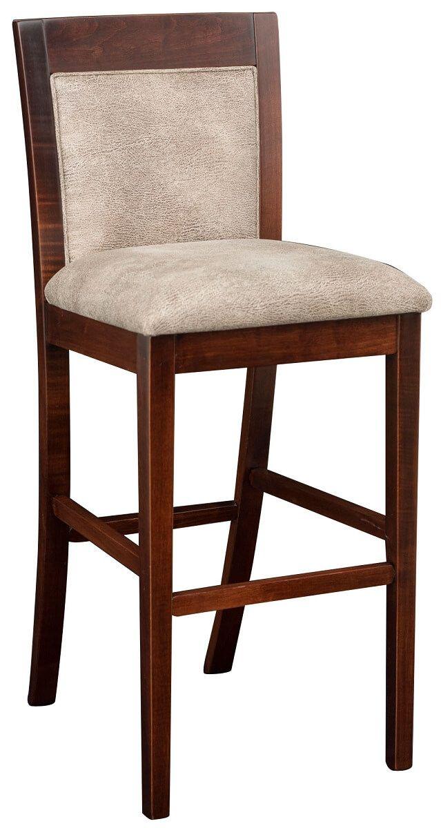 Upholstered Mendon Amish Bar Stool