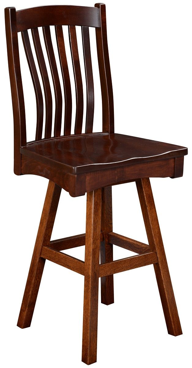 Bar Height Mission Stool