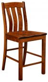 Newark Solid Wood Bistro Stool