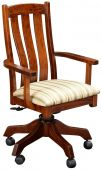Newark Solid Wood Desk Chair