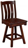 Newark Swivel Solid Wood Barstool