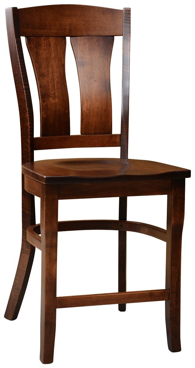 Brown Maple Noma Bar Height Chair