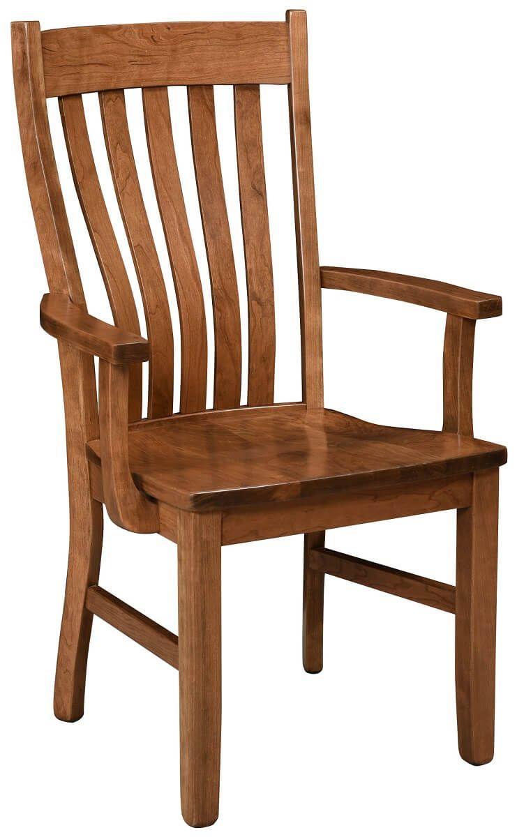 Saginaw Solid Wood Arm Chair