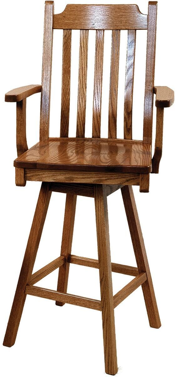 San Diego Swivel Bar Height Stool