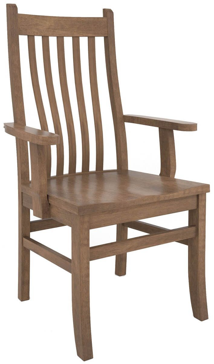 Maple Mission Arm Chair