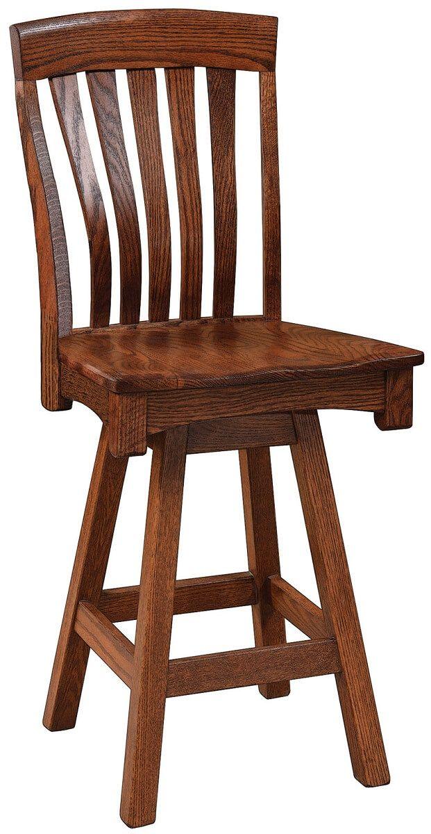Steubenville Swivel Bar Height Chair