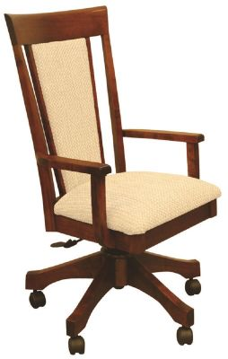 Attrayant Ludlow Upholstered Desk Chair