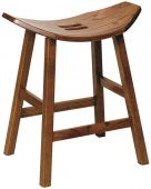 Newall Saddle Stool